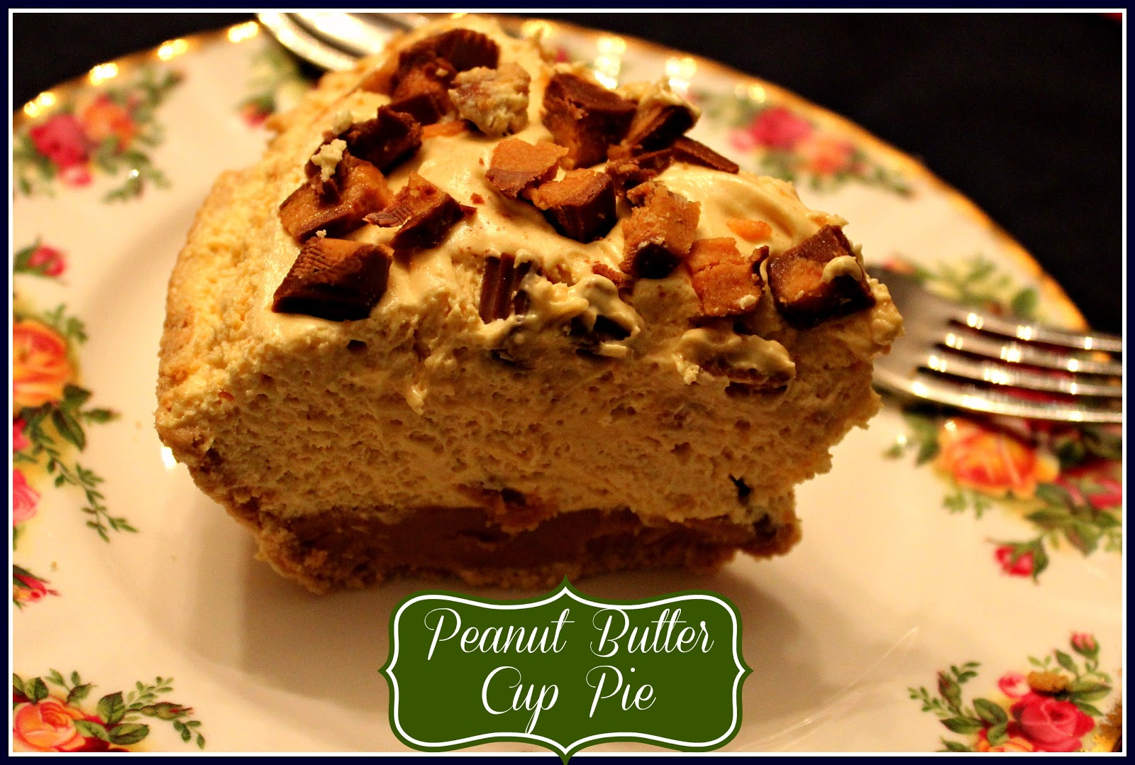 Sweet Tea and Cornbread: Peanut Butter Cup Pie!