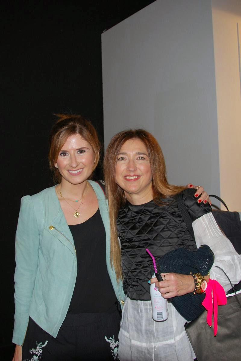 Rebeca de A Trendy Life y Carmen Hummer en MBFW Madrid