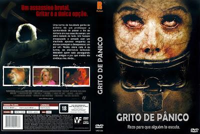 Grito de Pânico DVD Capa