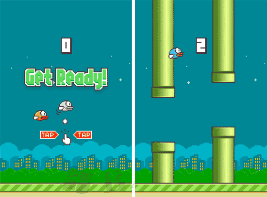 Flappy Bird Mod Anti Nabrak Apk