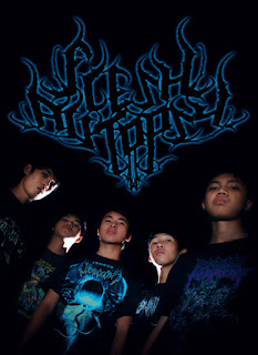 Wallpaper Foto Logo Band Flesh Autopsy Progressive Enigmatic Death Metal Bandung