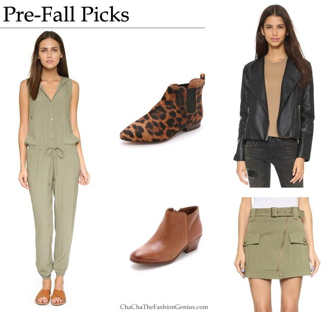 Pre-Fall Favorites 2015