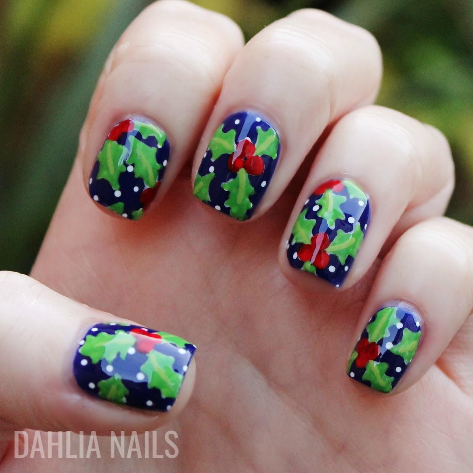 Dahlia Nails: Happy Christmas Eve!