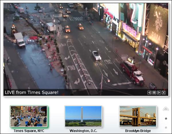 Sitio web para ver las cámaras en vivo de todo el mundo