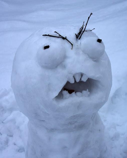 Rage snowman.