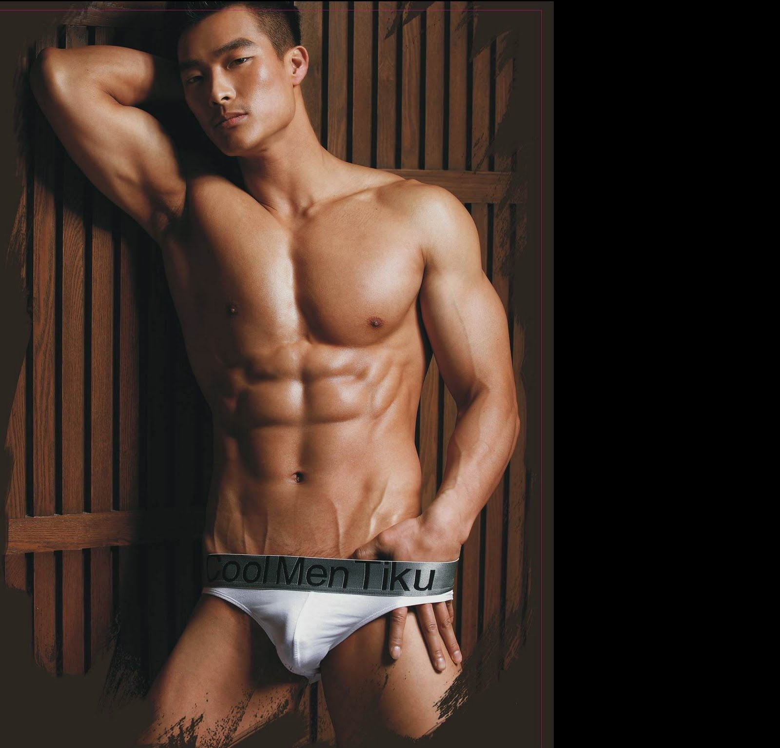 Male Sight Asian Jin Xiankui For Tiku Underwear Campaign