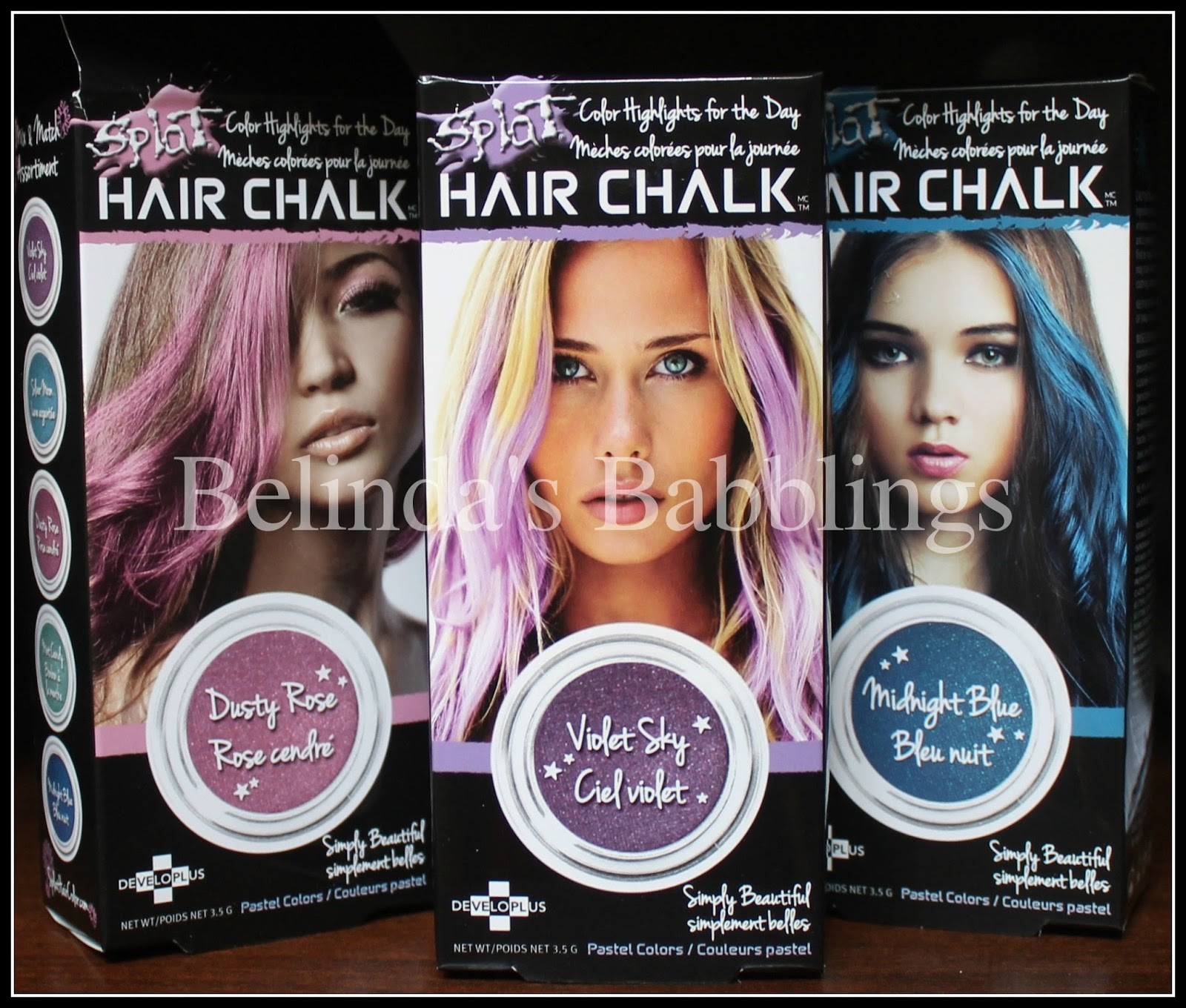 Splat Hair Chalk An In Depth Review Belindas Babblings
