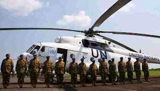 Heli MI-17 Diduga Jatuh Akibat Topan Haiyan