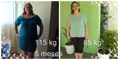 30 kg Off em 5 meses
