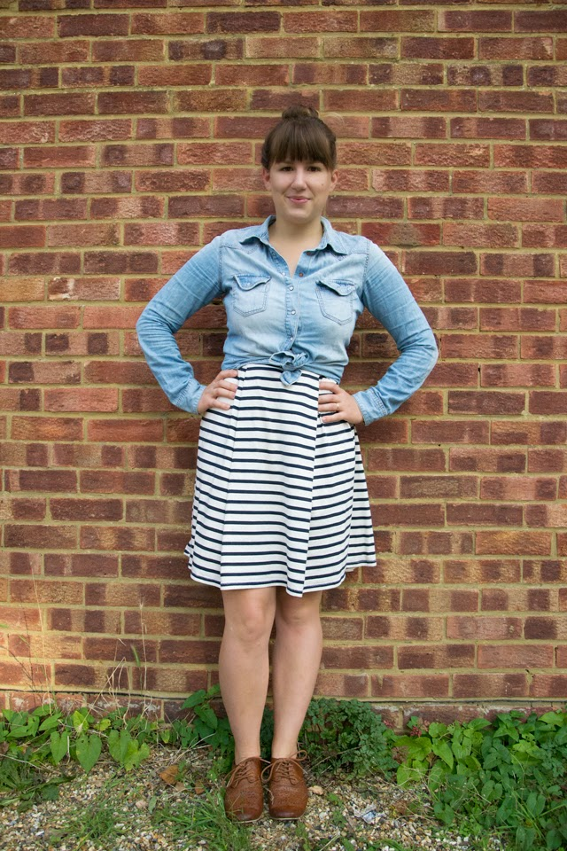 stripe dress 5 ways to wear a