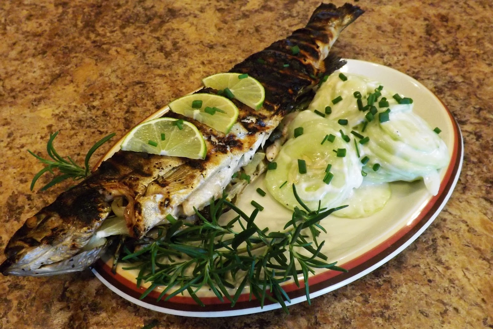 Make Your Someday Today!: Grilled Stuffed Lake Trout