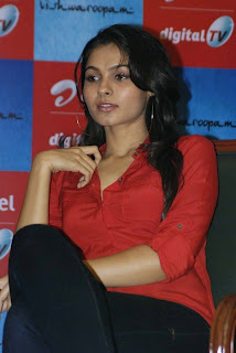andrea jeremiah Pictures at airtel dth launch12
