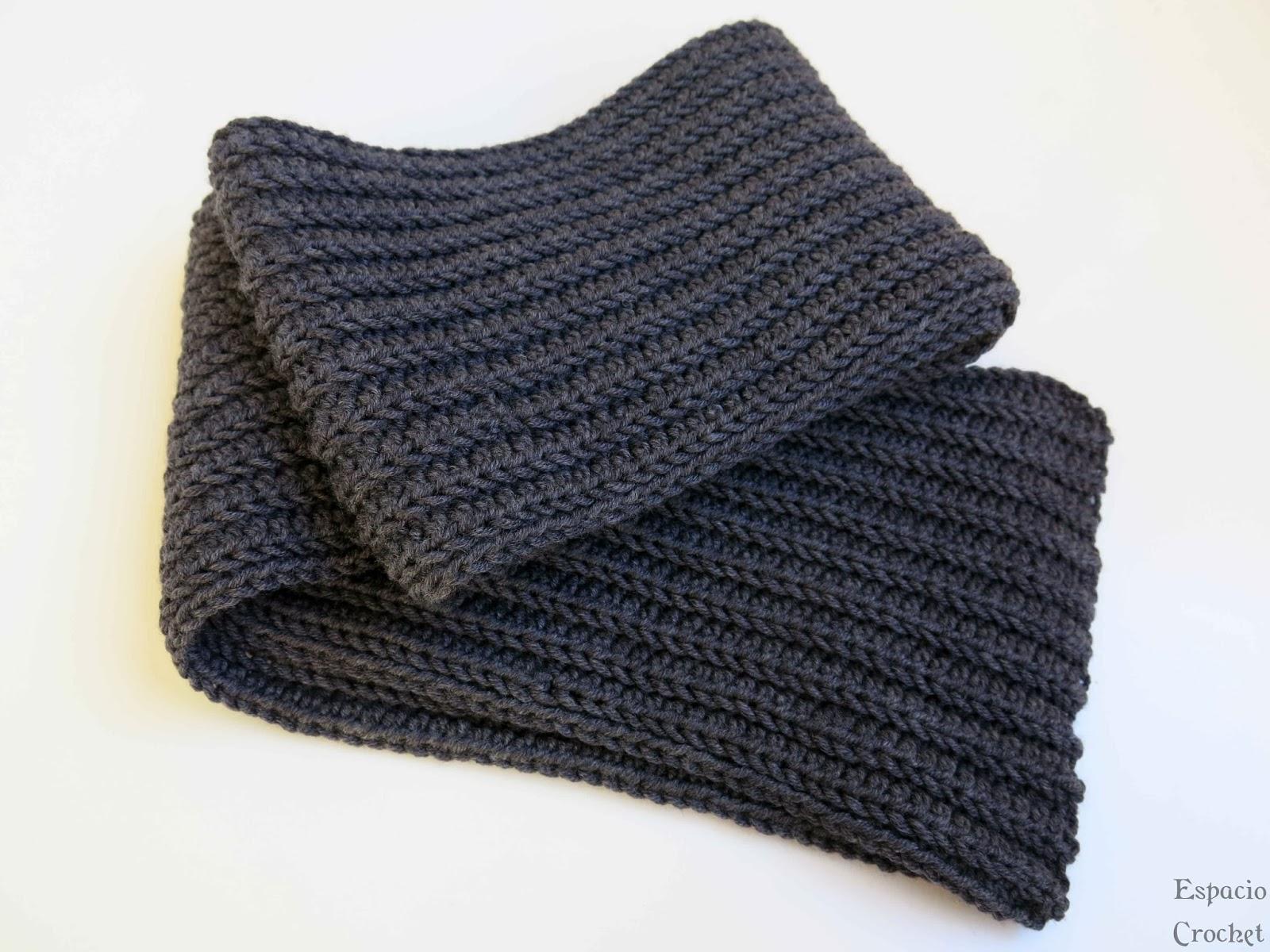 Otra bufanda de crochet | Espacio Crochet
