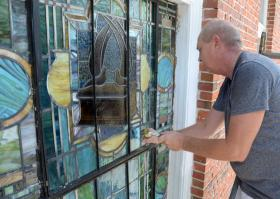 Creation, care of synagogue stained-glass passes through three generations | StAugustine.com 2 12525566 St. Francis Inn St. Augustine Bed and Breakfast