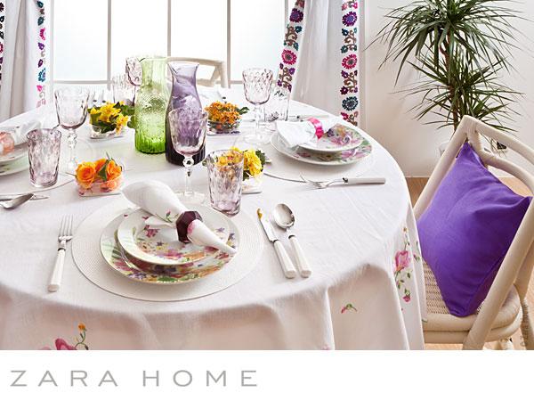 Zara Home Ete 2011 : Harmonie en Blanc - MaxiTendance