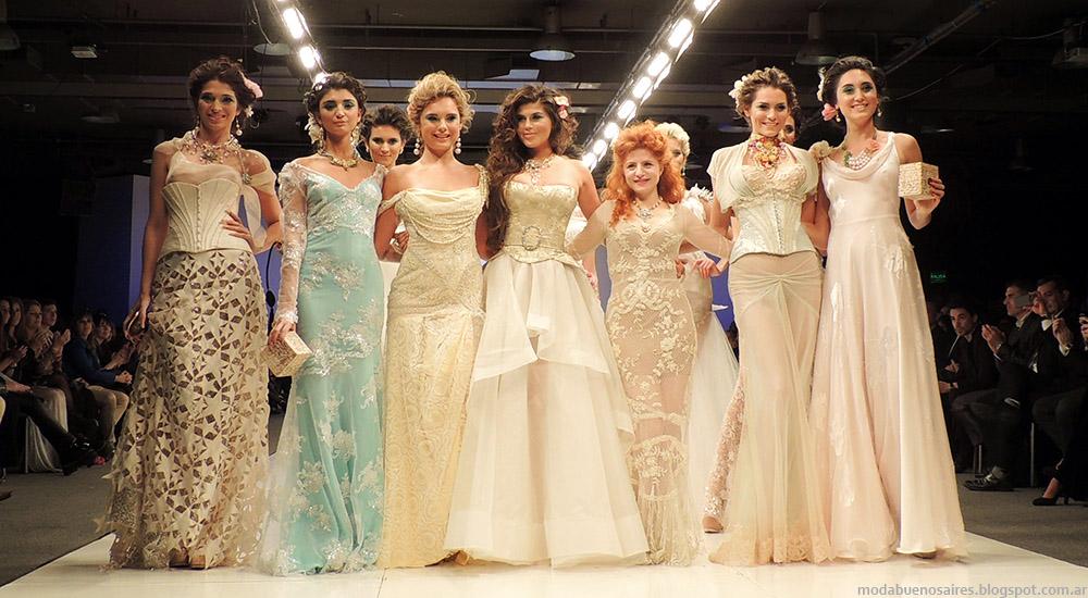 Moda Argentina primavera verano 2015. Silkey Mundial Argentina Fashion Week: Verónica de la Canal, María Gorof y Agustino 2015.