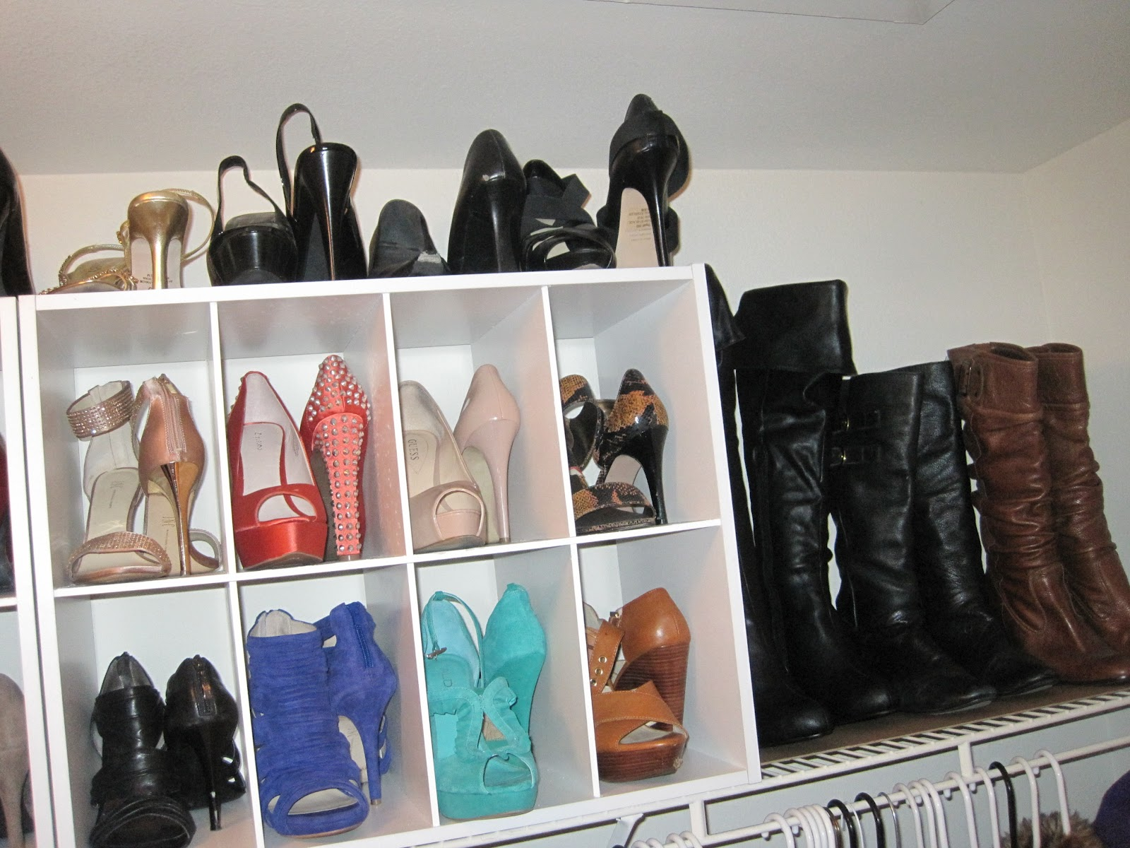 fabulous girl beauty how to organize your shoes. Black Bedroom Furniture Sets. Home Design Ideas