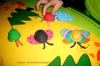 Activité créative coque de noix