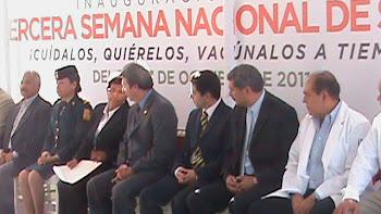 INAUGURACION DE LA TERCER SEMANA NACIONAL DE VACUNACION