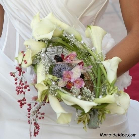 Bouquet vari per la sposa for Camelie bianche