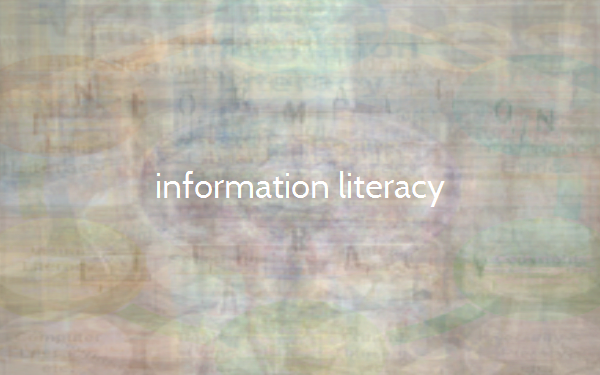information literacy essay Information literacy and communicationskills that are required in our day to day activities to derive, analyze, evaluate and use information are currently known as.