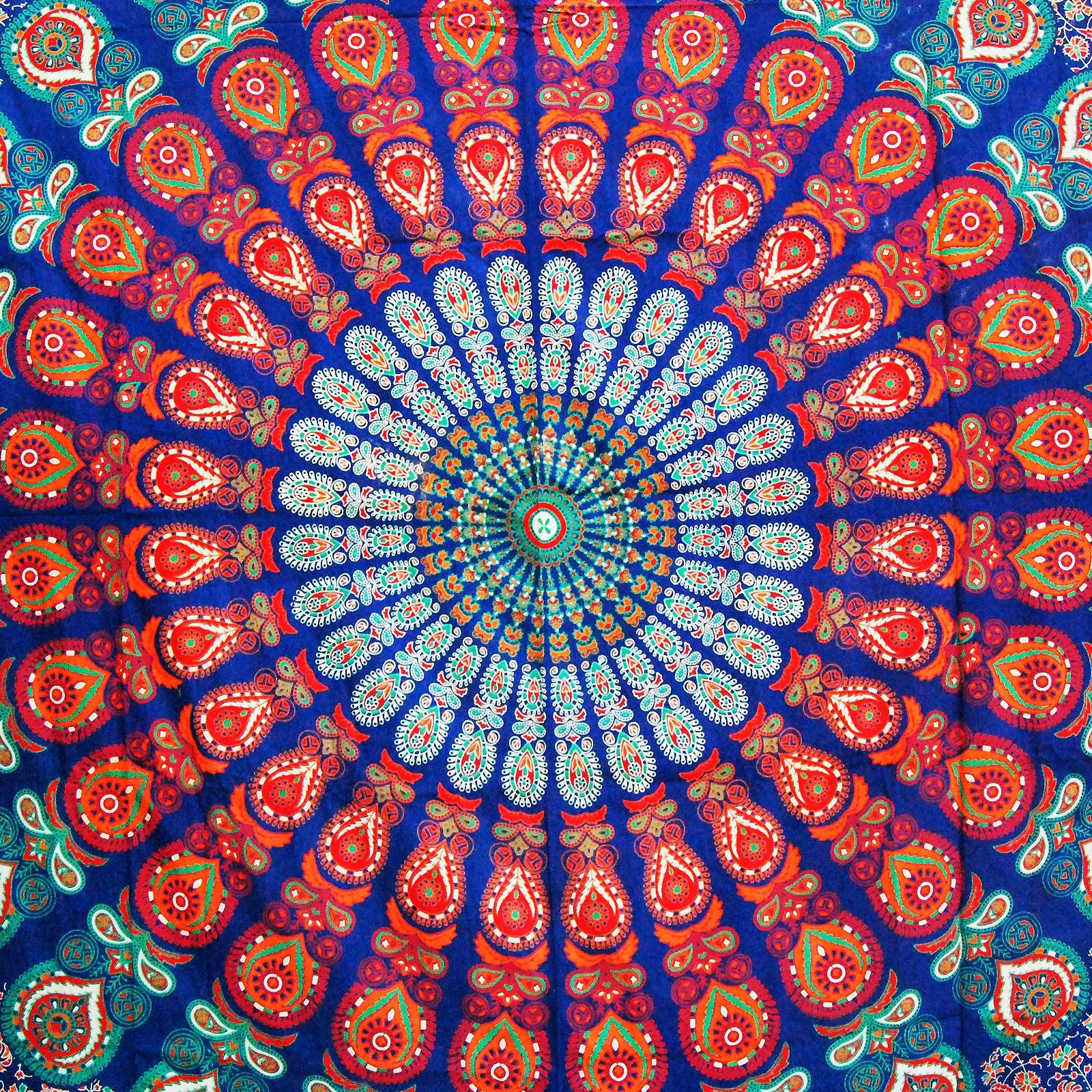 hippie tapestries mandala tapestries queen boho tapestries wall queen indian cotton psychedelic mandala tapestry large wall hanging hippie bedding throw bedspread bohemian boho ethnic decor art