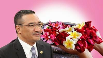 Buang Sial Hishamuddin Disyorkan Mandi Bunga