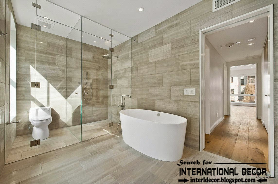 Modern bathroom wall tile designs - Latest Beautiful Bathroom Tile Designs Ideas 2016
