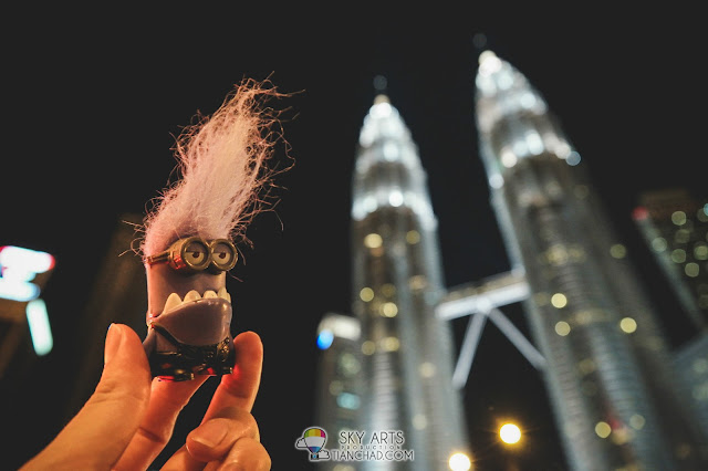 Evil Minion want to be tougher person too
