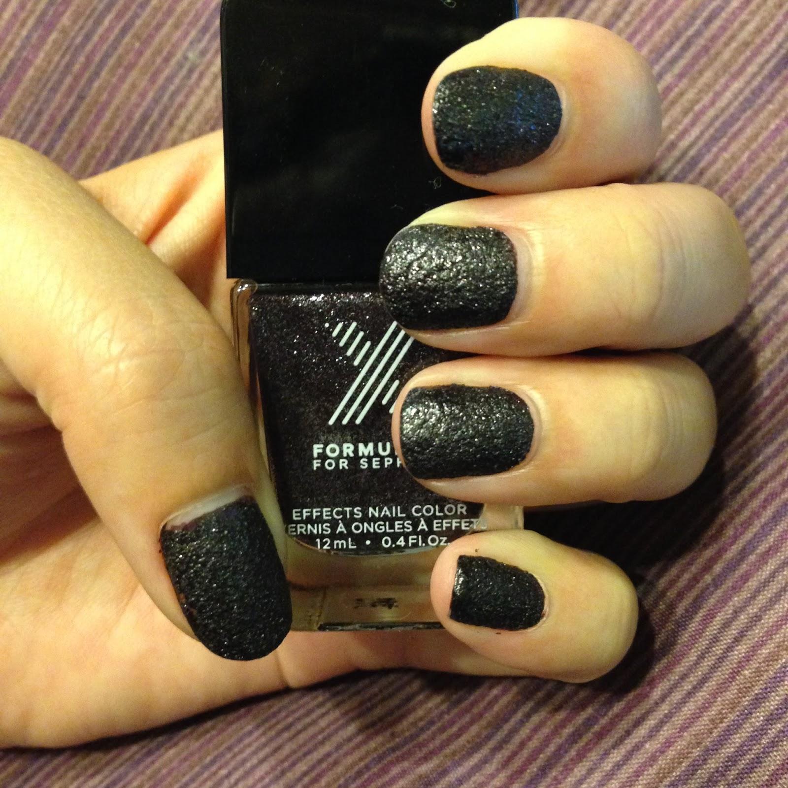 lovelifeoutloud: Nails of the Week #42: Formula X Black Hole