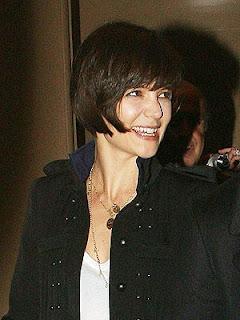 katie holmes hair 2011