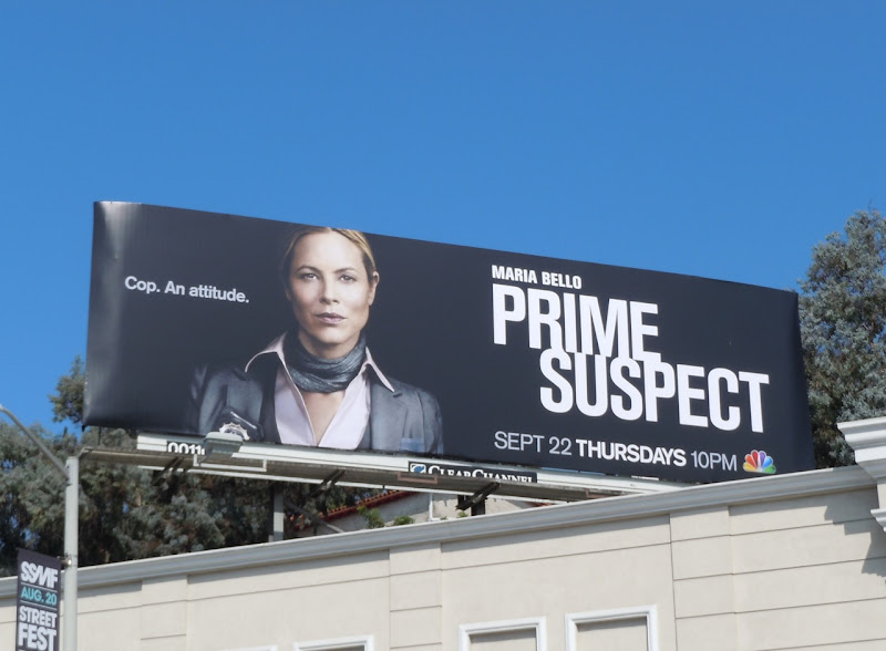 Prime Suspect US TV billboard
