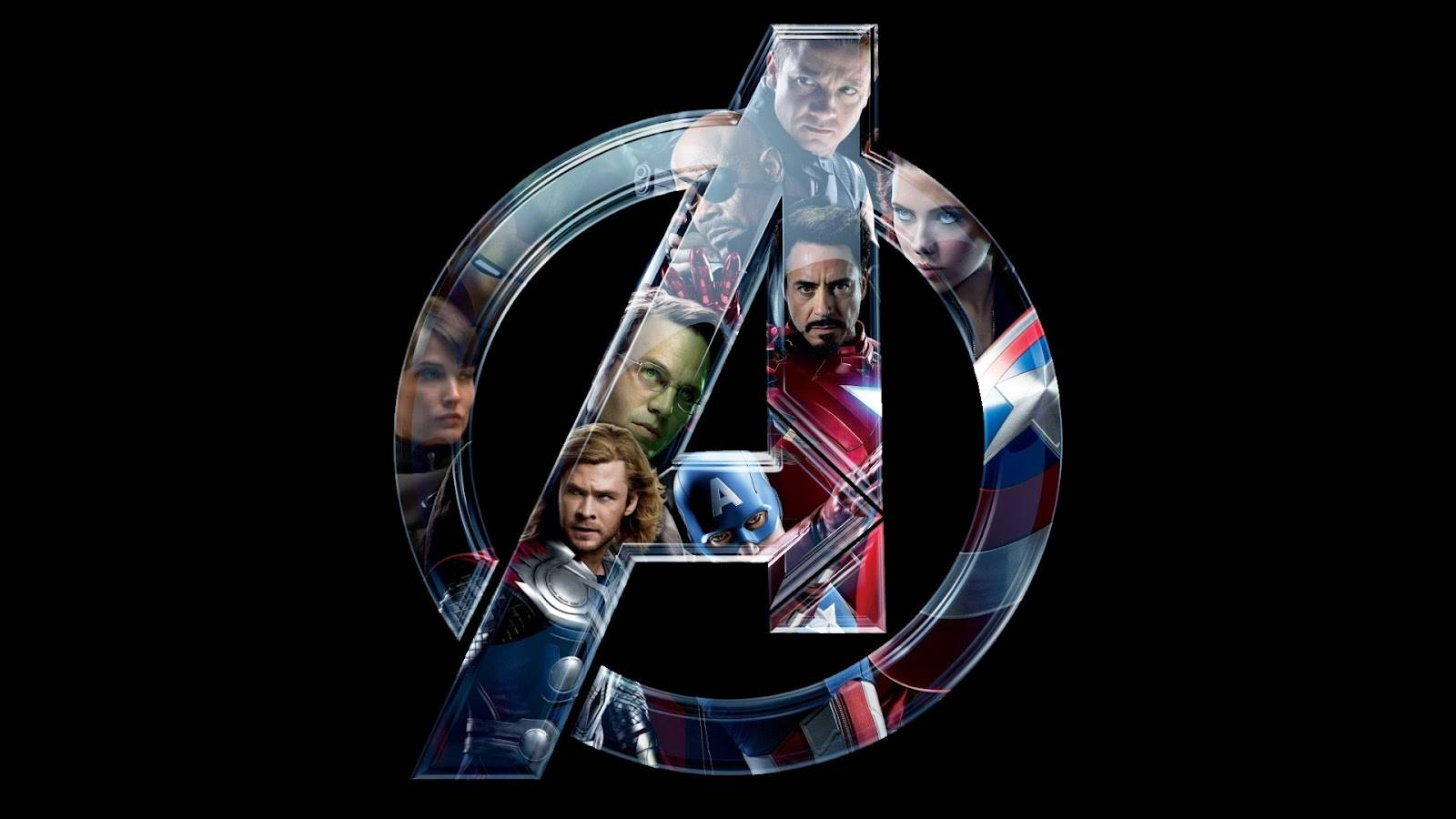 The Avengers – Black Background – Wallpapers