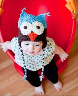 kiểu mũ len angry bird cho bé gái