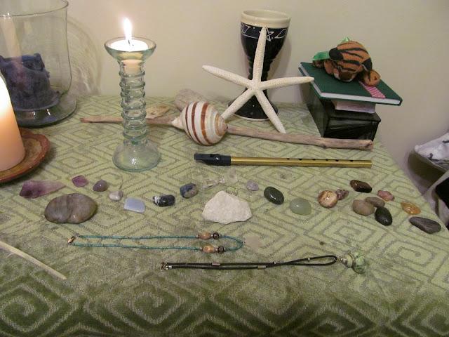My altar, December 2011