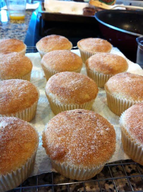 The Road to Oklahoma: Cinnamon Sugar Doughnut Muffins