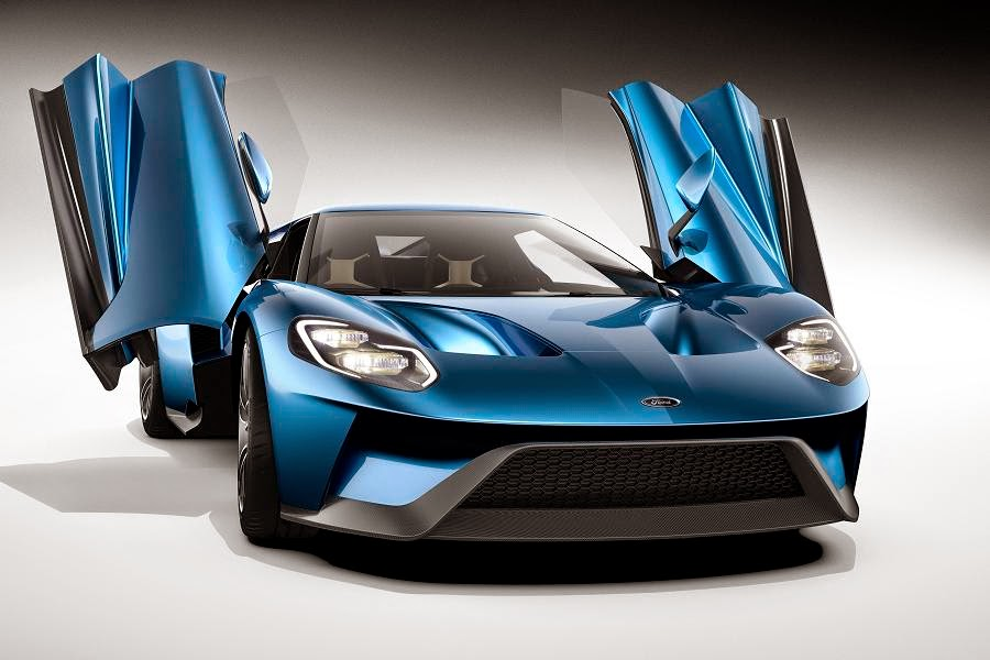 Ford GT (2017 Rendering) Front Side 2