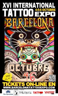 Convención de tatuajes de Barcelona, http://distopiamod.blogspot.com.es