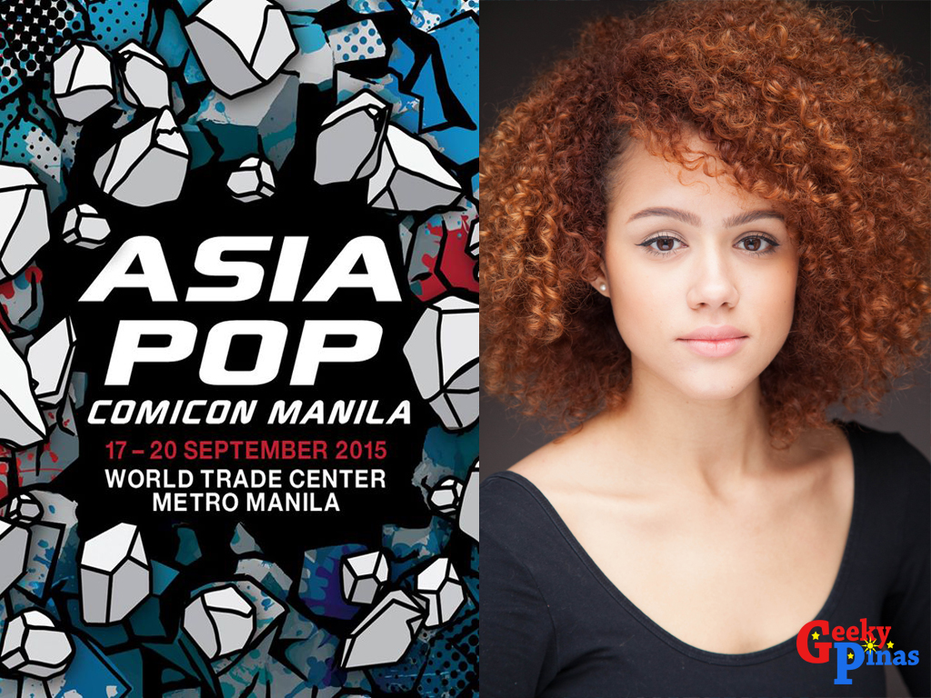 Nathalie Emmanuel will be on AsiaPop Comicon Manila 2015!
