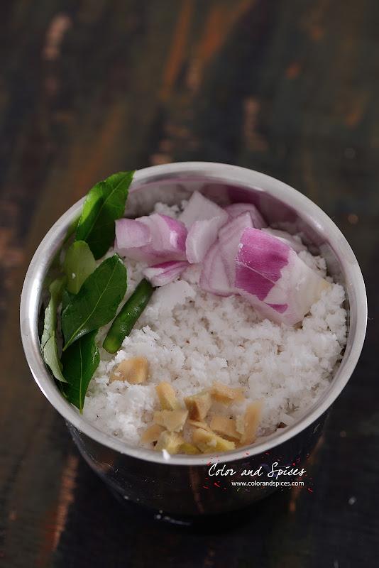 how to make coconut getti chutney