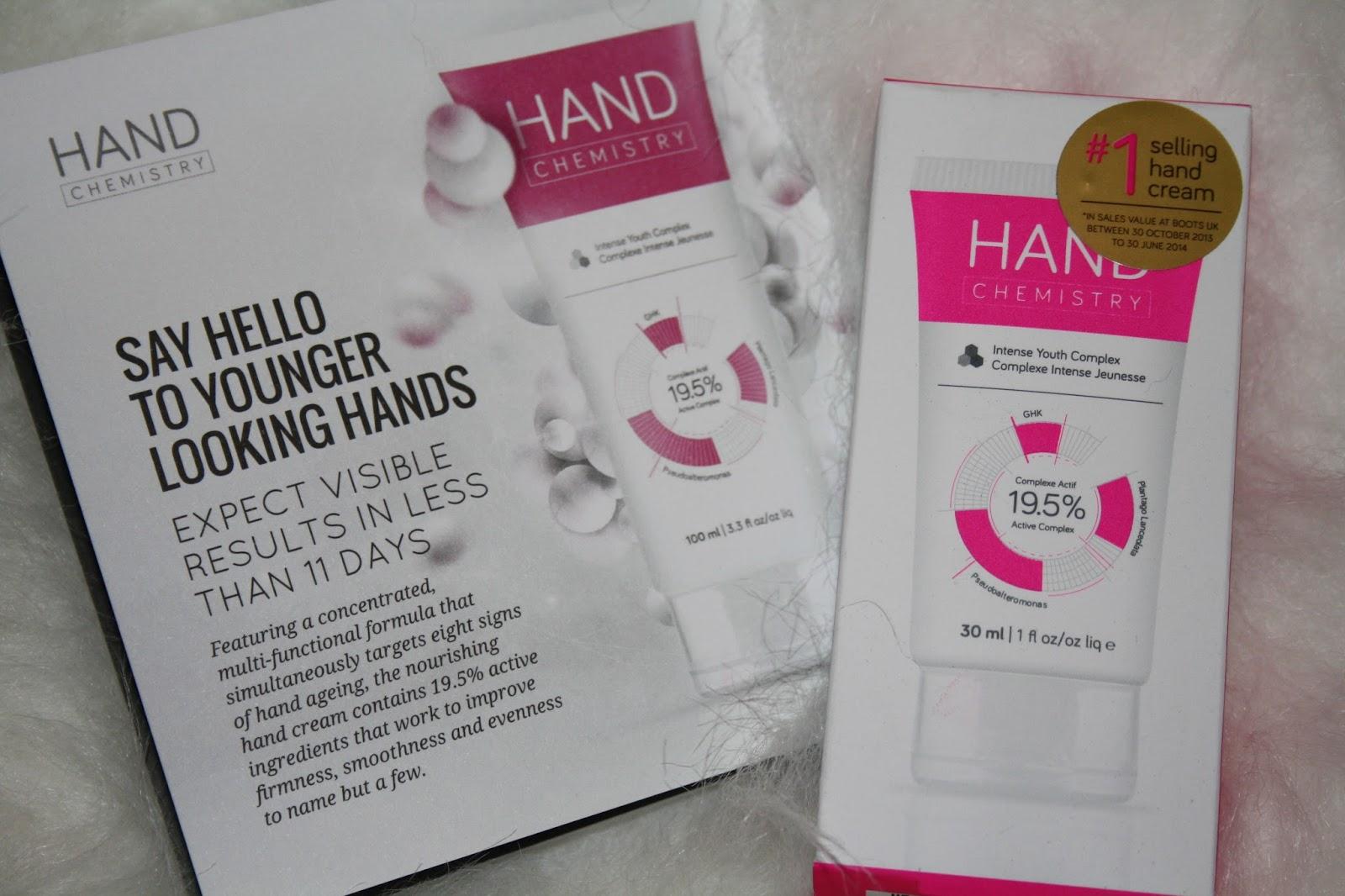 Look Fantastic November Beauty Box - Hand Chemistry