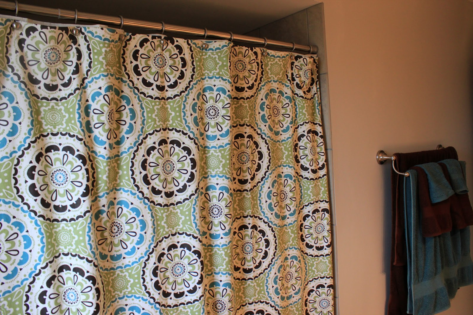 Breezy Pink Daisies: My Shower Curtain Saga - Shower Curtain #4 in ...