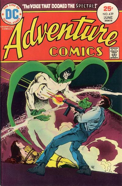 Adventure Comics #439, Jim Aparo, the Spectre