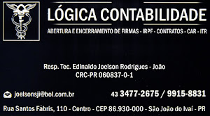 LÓGICA DE CONTABILIDADE