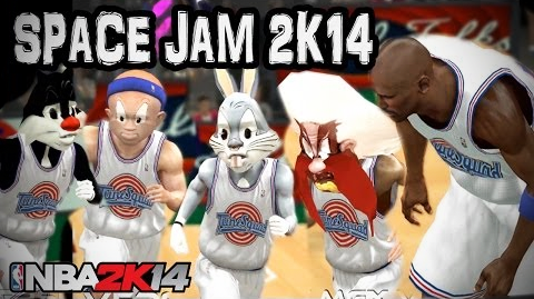 Space Jam Mod for NBA 2K14 Tune Squad