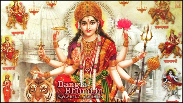 Maa Ambe Maa Durga Indian God 1366x768 Wide Wallpaper