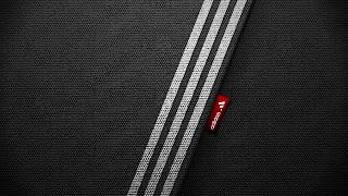 Adidas 3 Stripes Sport Logo Red Brand Sport HD Wallpaper