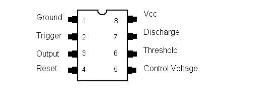 electronics fusions  a 555 timer led flasher circuit