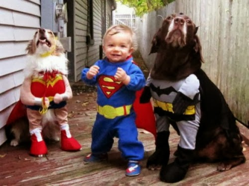 Οι super ήρωες είναι πάντα της μόδας