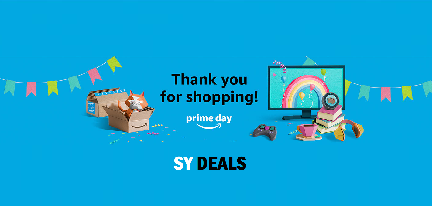 Thank You for Shopping Prime Day Deals